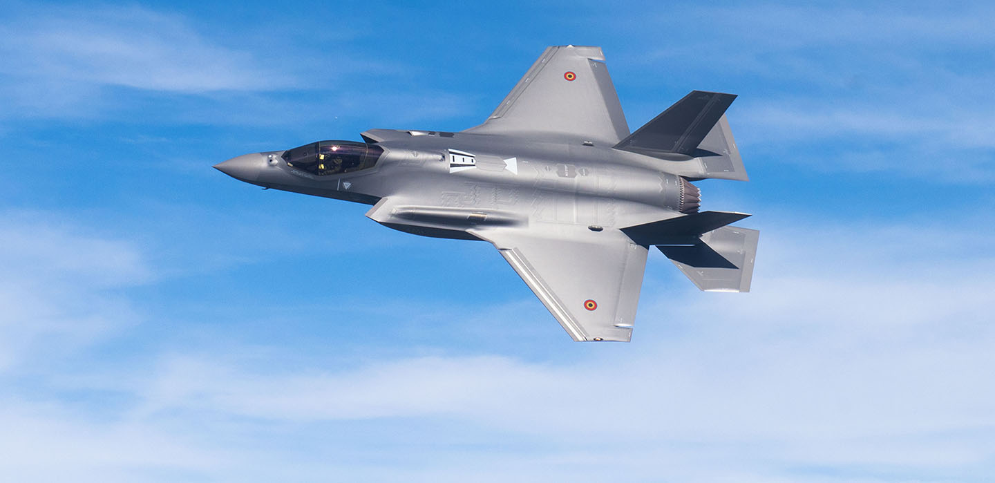 Belgian Air Component F-35