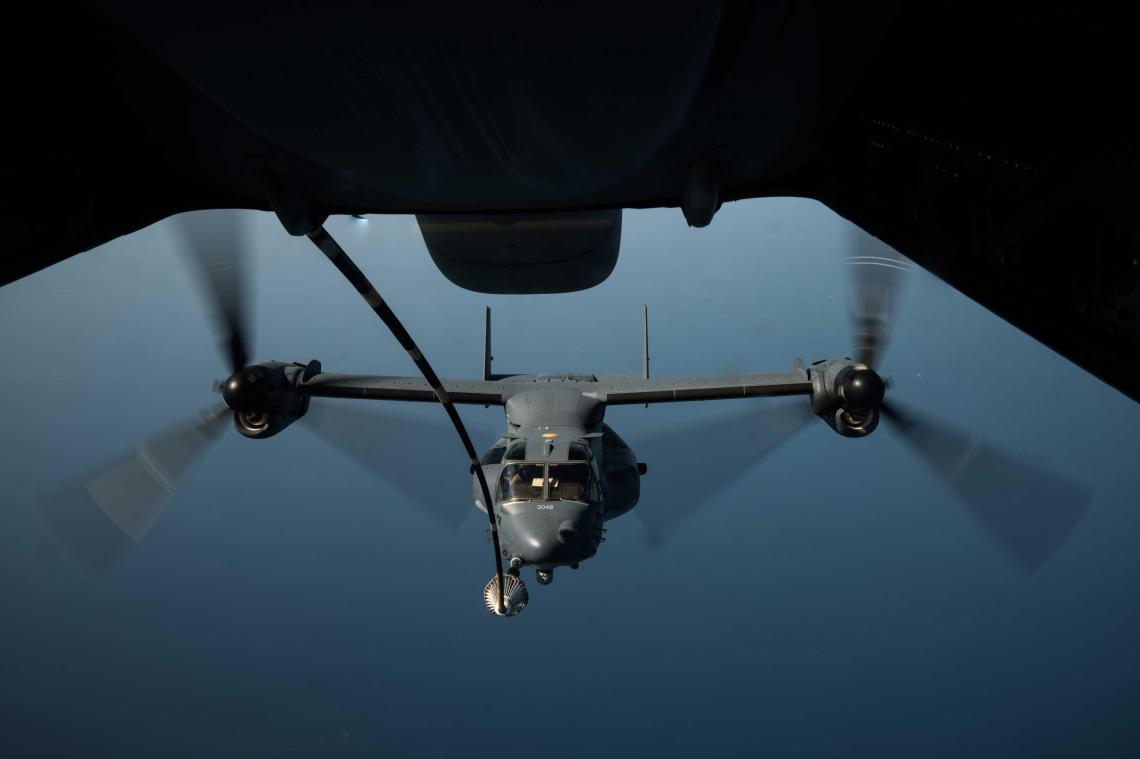 Bell Boeing V-22 Osprey Tiltrotor Military Aircraft