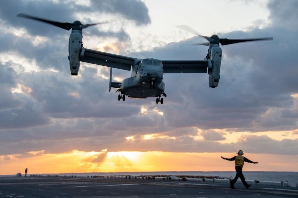 Bell Boeing V-22 Osprey Tiltrotor Military Aircraft Soars Past 600,000 Fleet Flight-hours