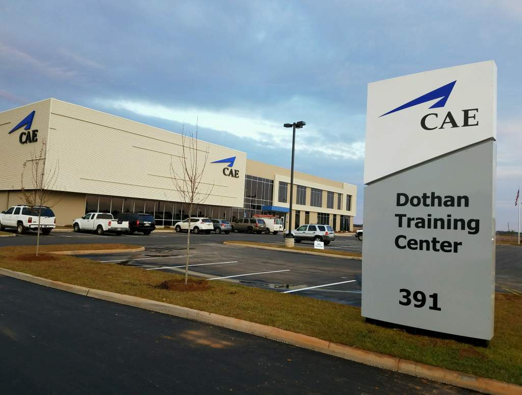 The state-of-the-art Dothan Training Center is a 79,000 square-foot facility designed to provide comprehensive fixed-wing flight training to the U.S. Army, U.S. Air Force, U.S. Navy and other customers.