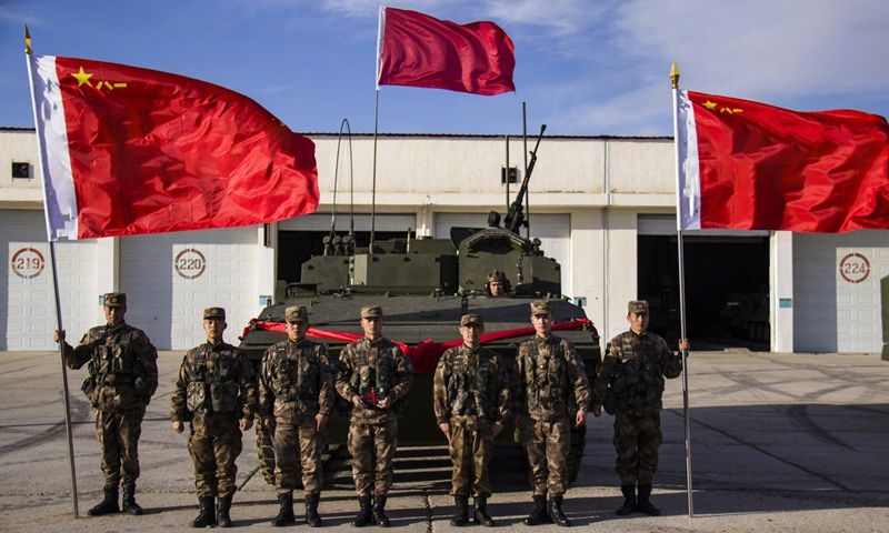 Chinese People's Liberation Army 81st Group Army Commissions New Infantry Fighting Vehicle