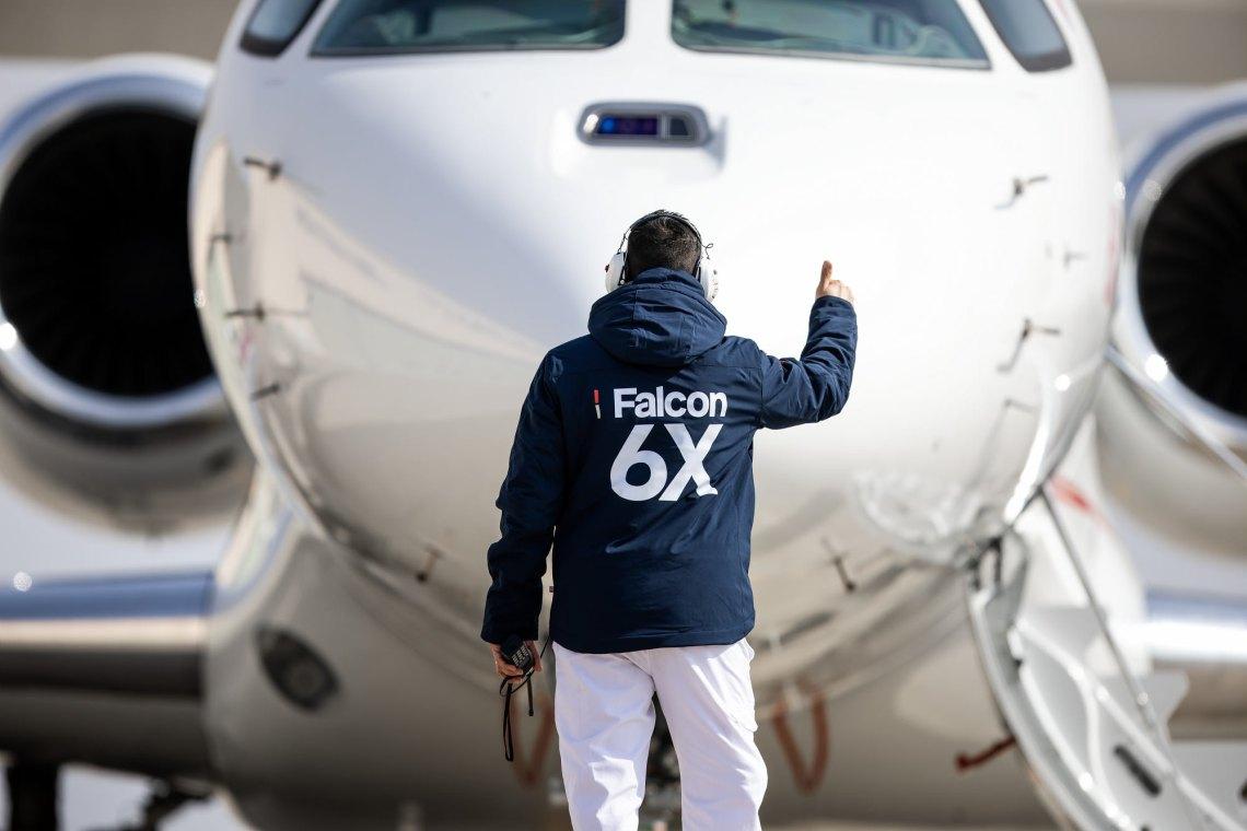 Dassault Aviation Falcon 6X Completes Maiden Flight