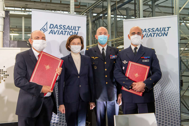 Dassault Aviation Receives Order for 12 Rafale Multirole Fighters for French Air Force
