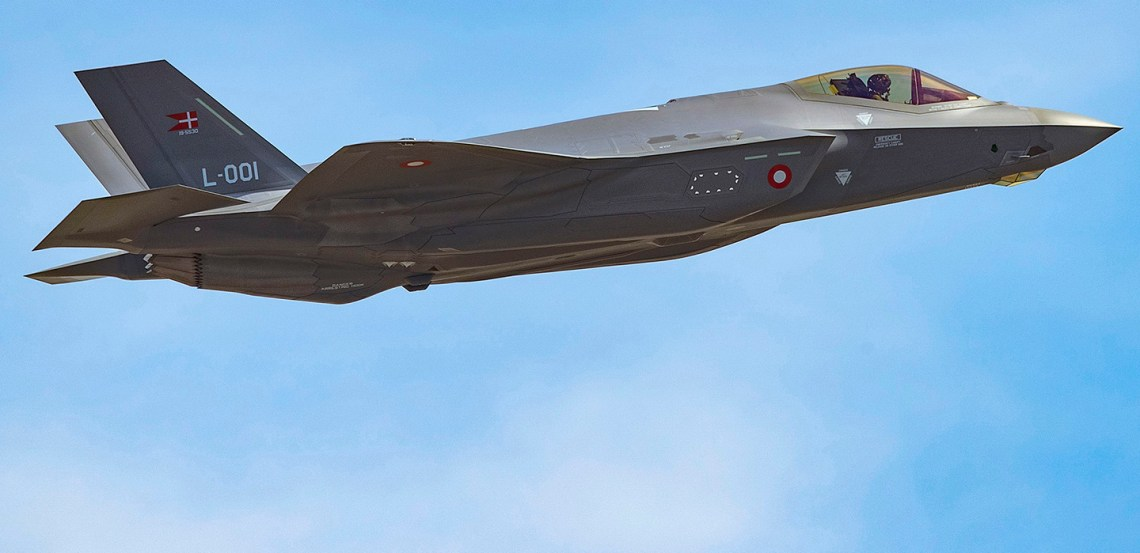 First F-35A Lightning II for Royal Danish Air Force Takes Flight