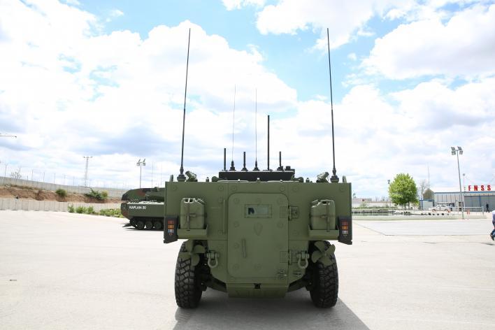 Pars Izci Scout Amphibious Armored Vehicles