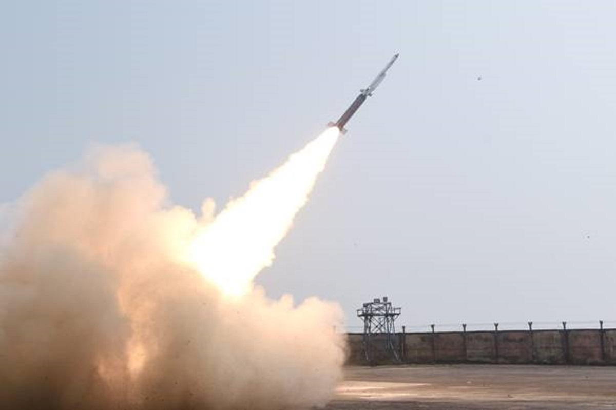 India's Defence Research and Development Organisation Tests Solid Fuel Ducted Ramjet Technology
