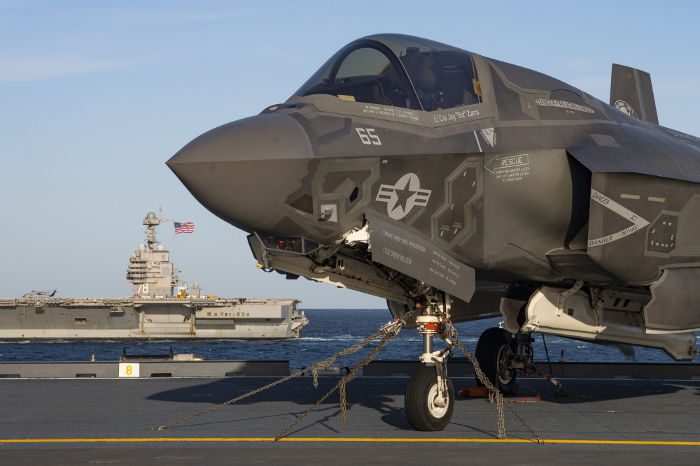 Italian Navy Aircraft Carrier Confirm Readiness to Operate F-35B Fighter