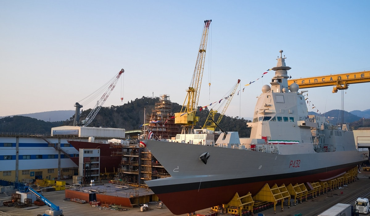 Italian Navy's Third PPA Raimondo Montecuccoli