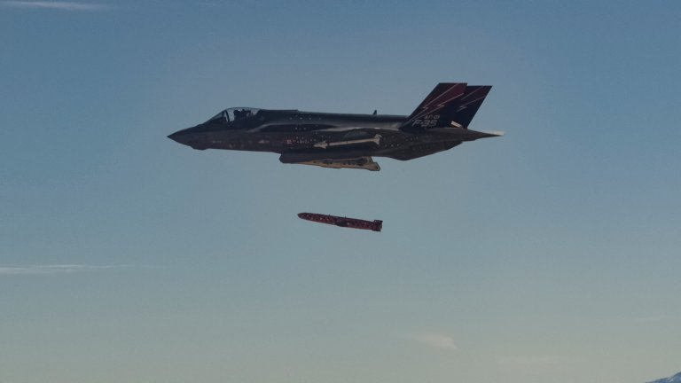 Joint Strike Missile (JSM) Successfully Tested From F-35A Joint Strike Fighter