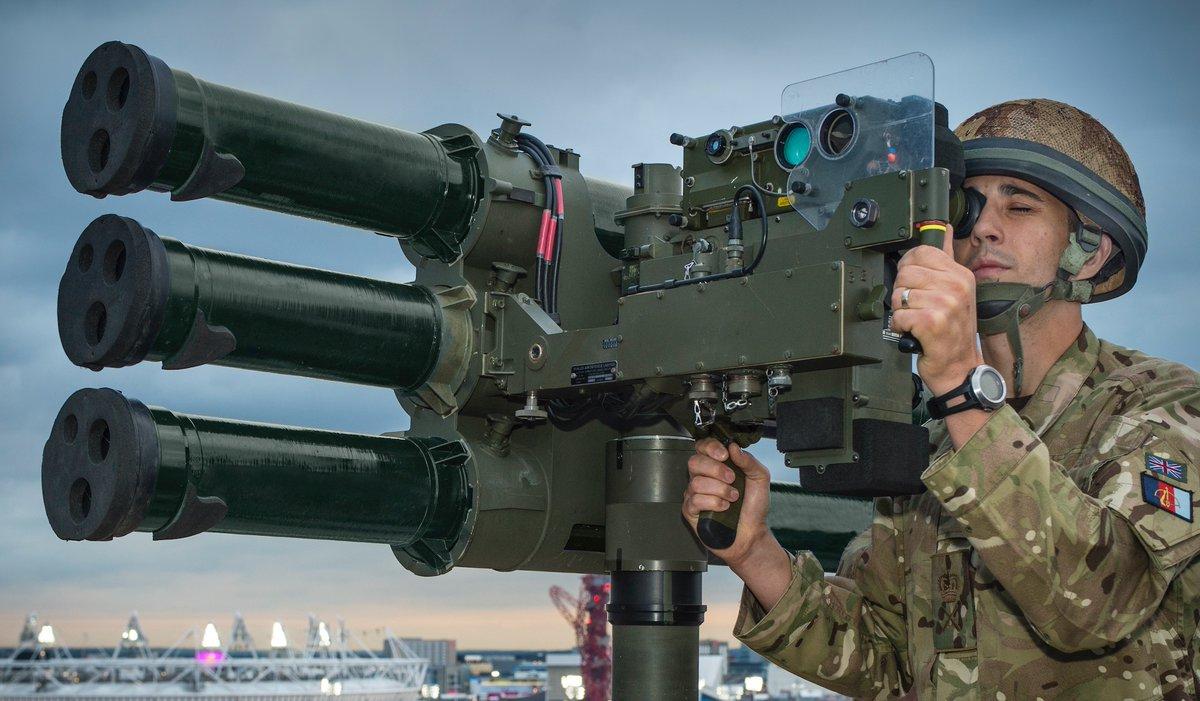 Lightweight Multiple Launcher (LML) tripod system.