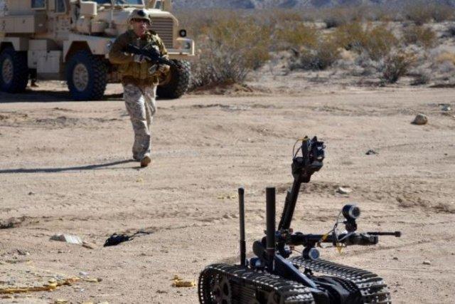 MK 2 Man Transportable Robotic System