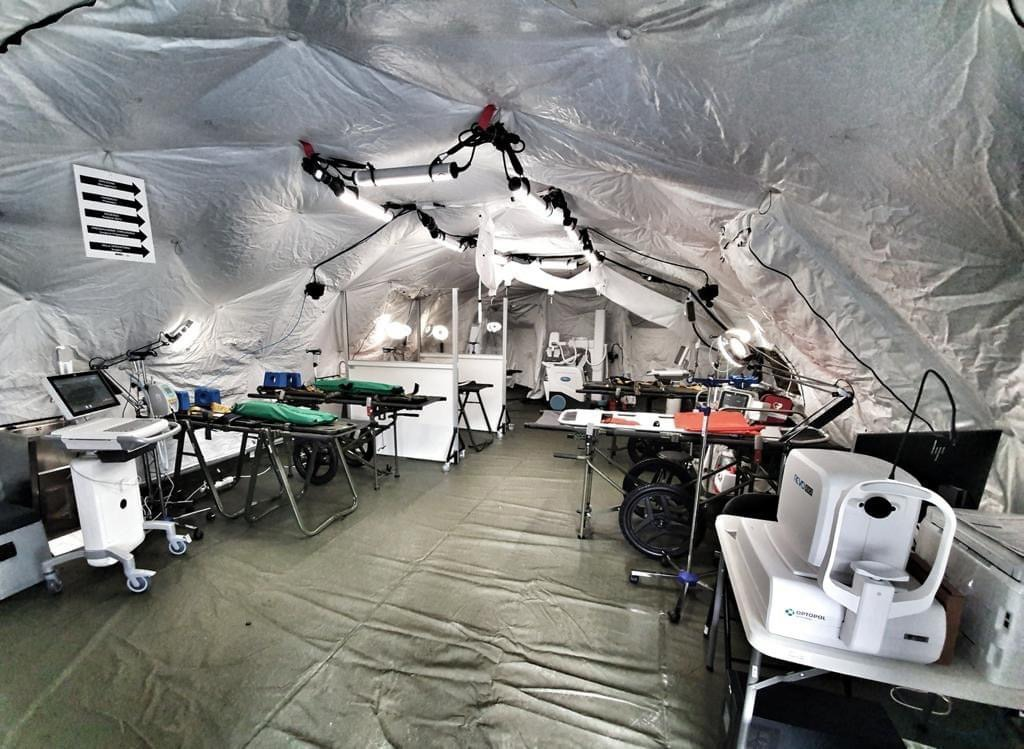 NATO Support and Procurement Agency Delivers First of Eighteen Field Hospitals to Italy