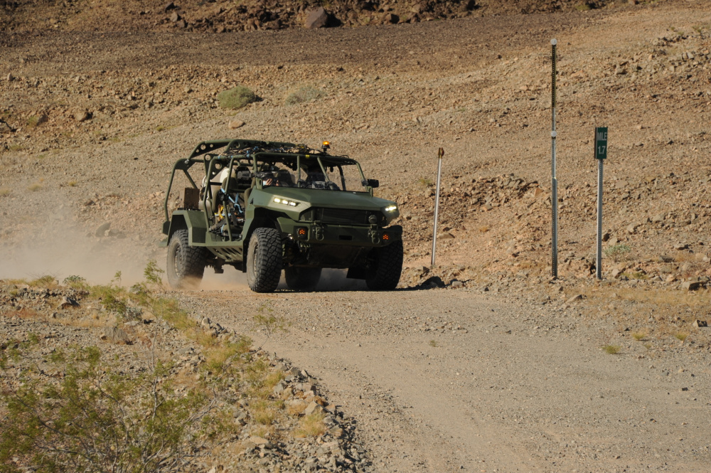 New Infantry Squad Vehicle (ISV) Tested at US Army Yuma Proving Ground (YPG)