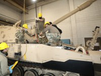 North Carolina National Guard Fields Newest M109A7 Paladin Self-Propelled Howitzer