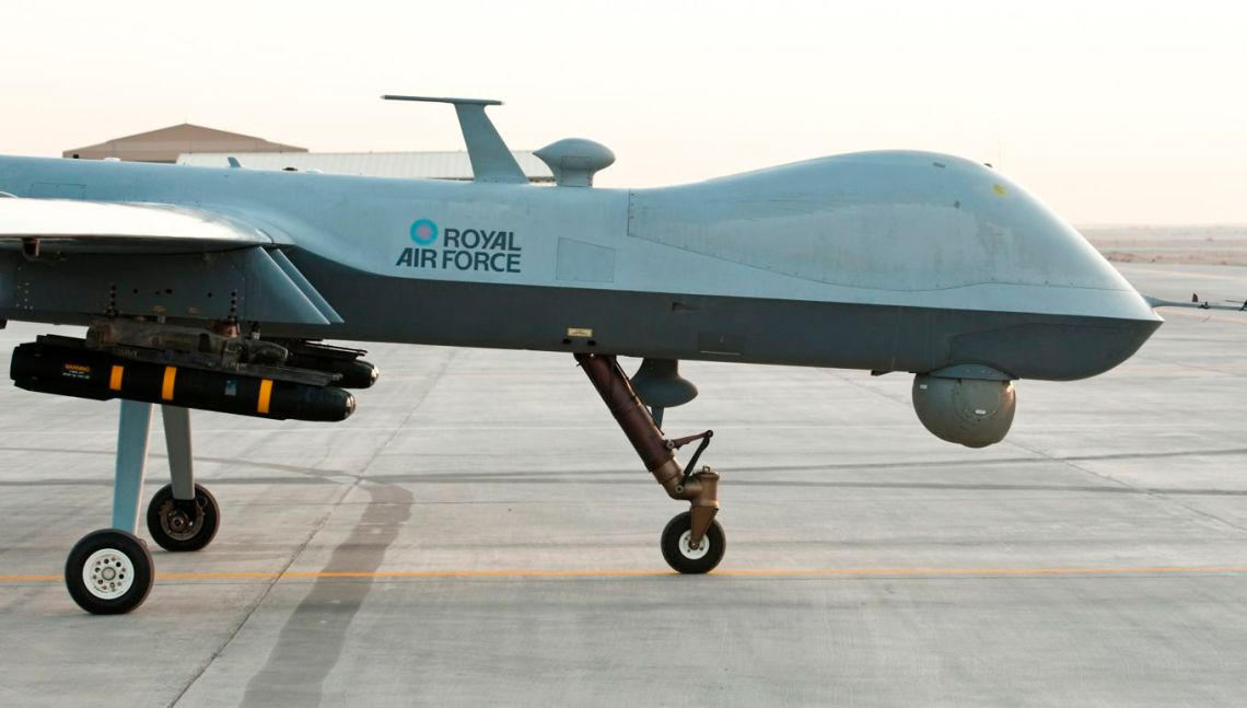 Royal Air Force MQ-9A Reaper Medium-Altitude Long Endurance (MALE)