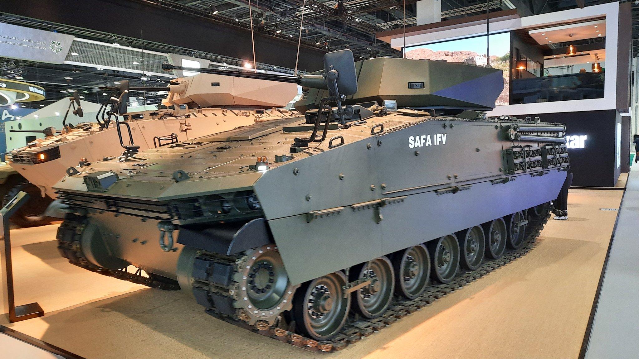 Safa Infantry Fighting Vehicle with MIZRAK-30 Medium Turret