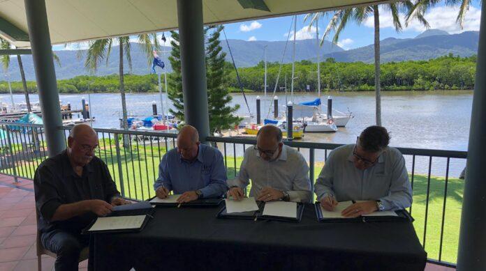 The Memorandum of Understanding (MoU) signing.