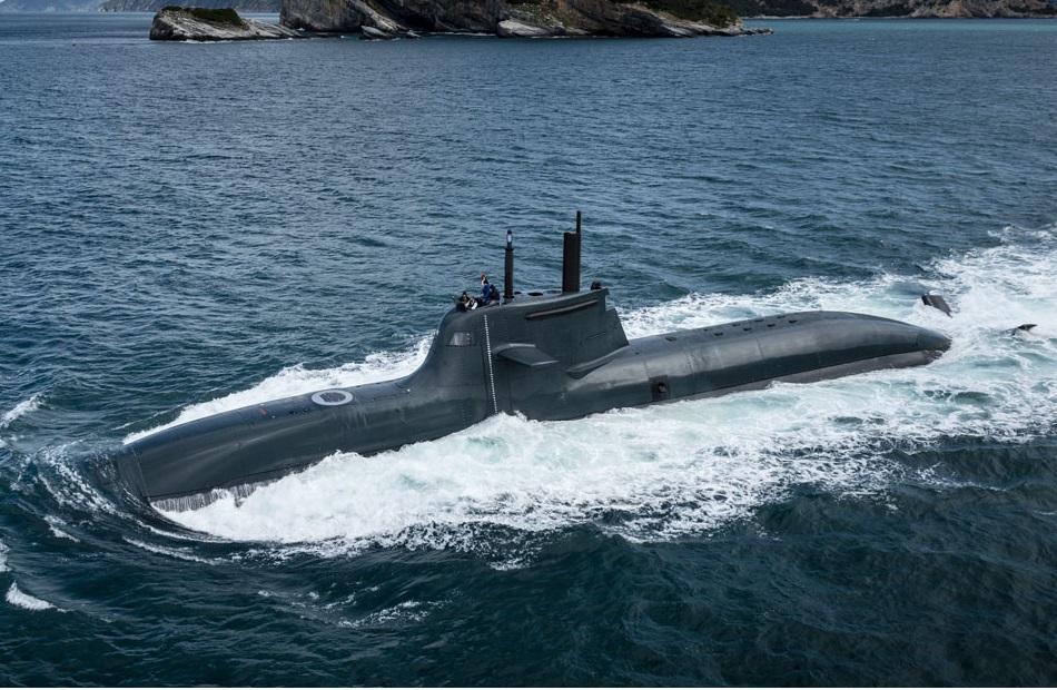 Italian Navy' Todaro (S 526) diesel-electric submarine