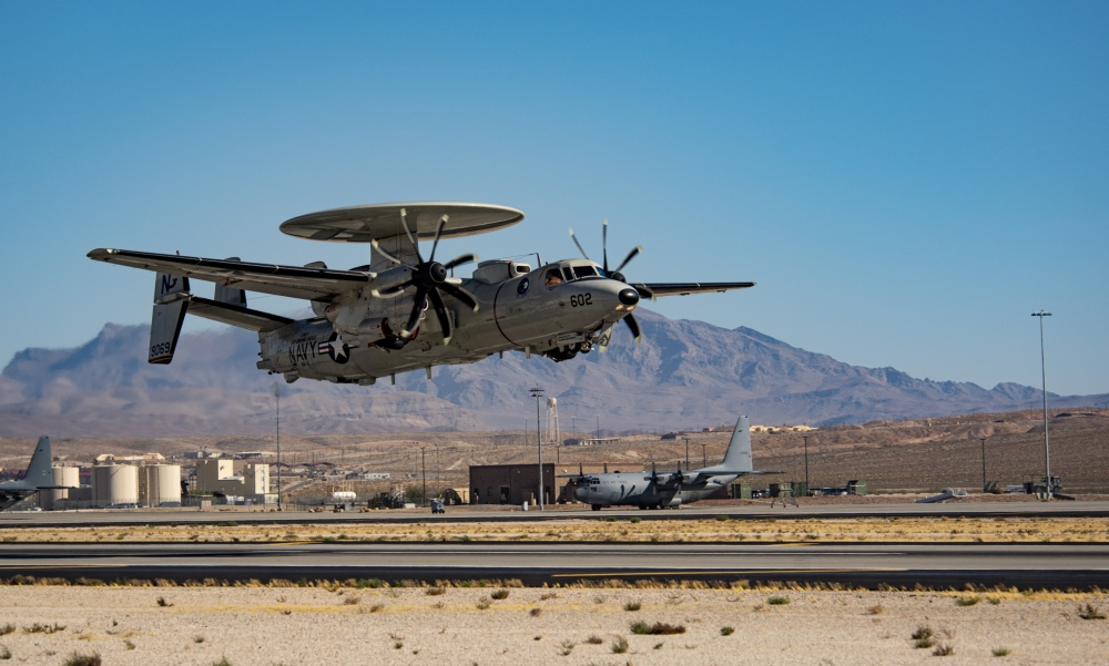 U.S Navy E-2D Advanced Hawkeye aircraft