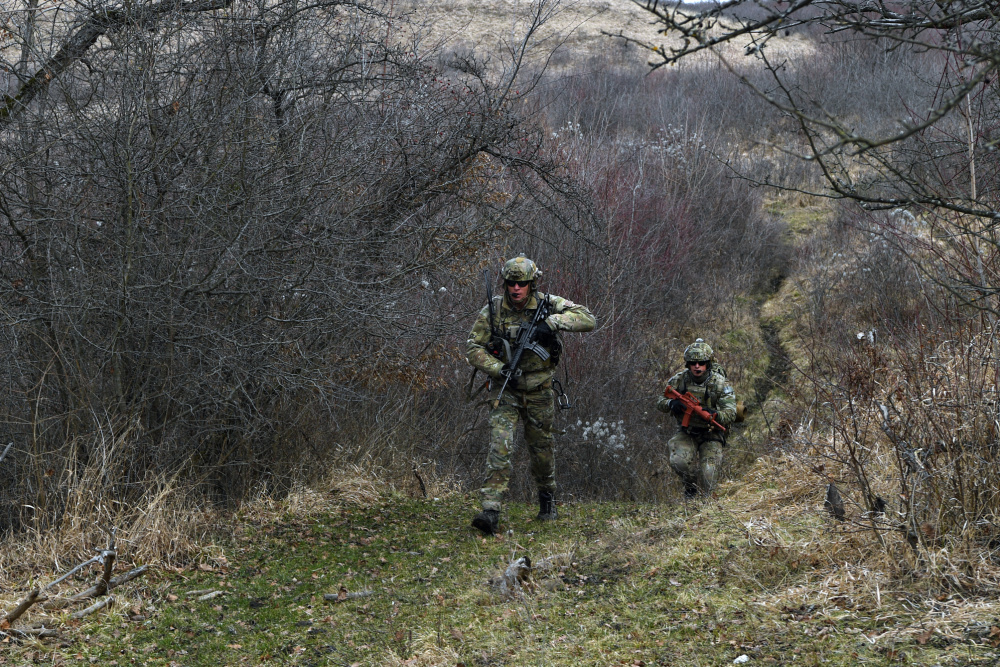 US Air Force 31st Operations Group Conducts joint Operation Porcupine Exercise in Romania