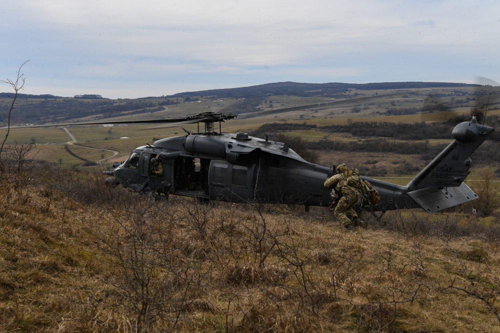 US Air Force 31st Operations Group Conducts joint Operation Porcupine Exercise