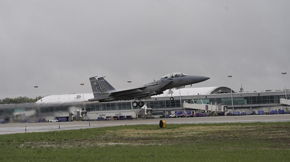 Boeing F-15EX air superiority fighter aircraft