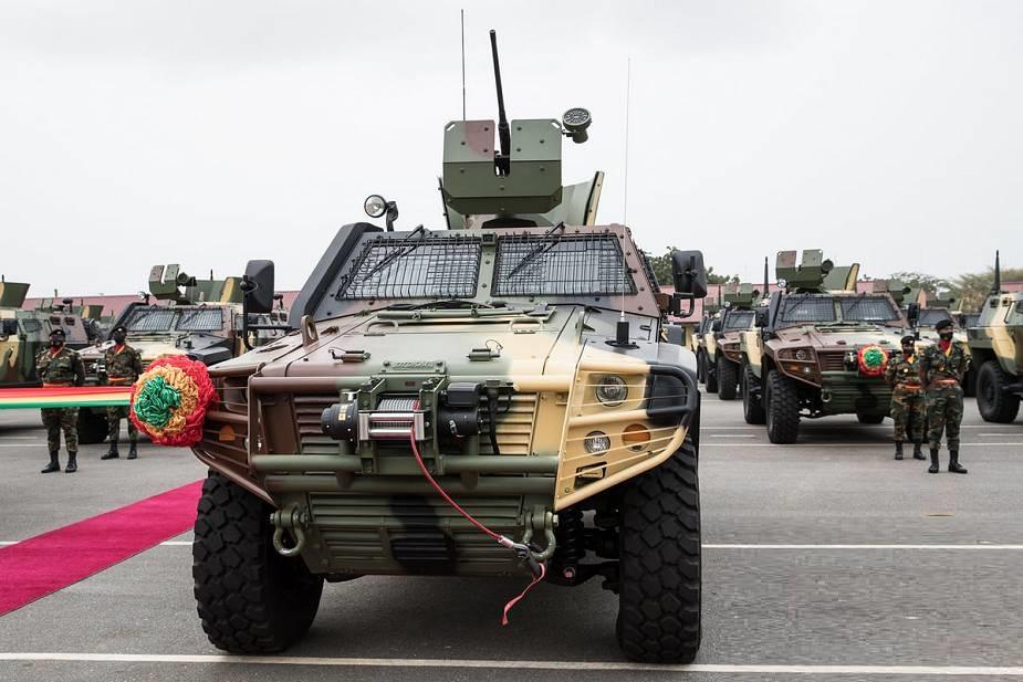 Ghana Armed Force Received Otokar Cobra 2 4x4 Armored Vehicles