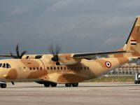 Egyptian Air Force C295 at the Final Assembly Line in Seville (Spain)
