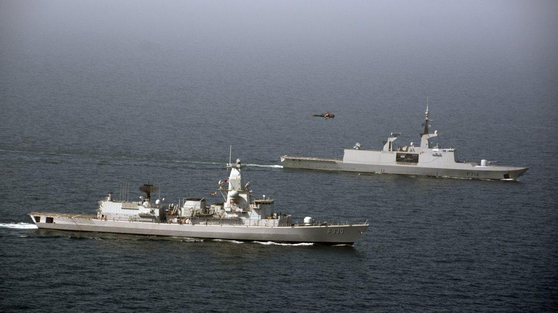 Belgian Navy's Leopold I Joined EMASOH (European-led Maritime Awareness in the Strait of Hormuz)