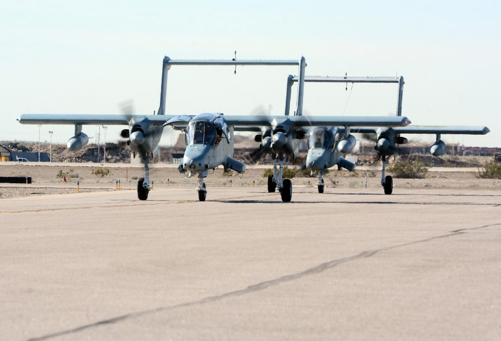 Blue Air Training OV-10 Bronco