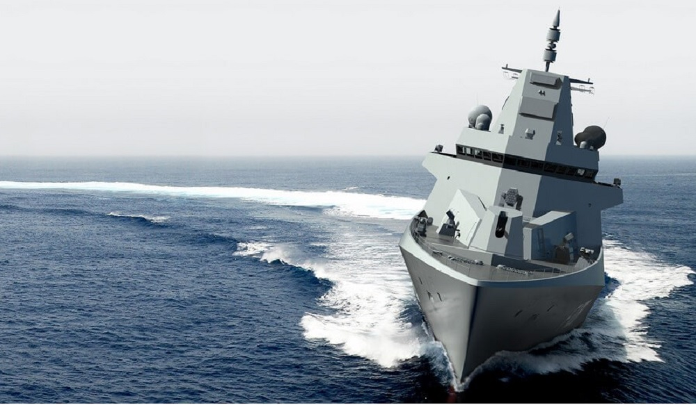 Damen Contracts Hamburg Ship Model Basin for New 126-class (F126) Frigate Tests