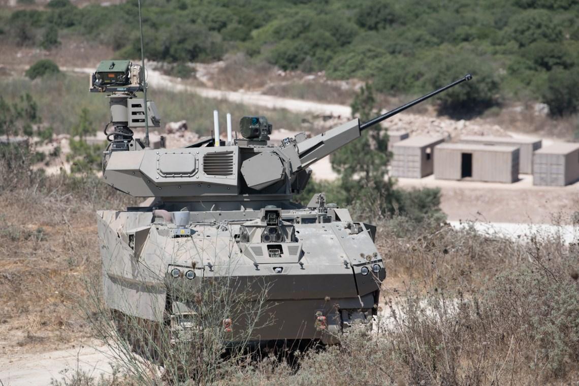 Elbit System Carmel Armored Fighting Vehicle Demonstrator