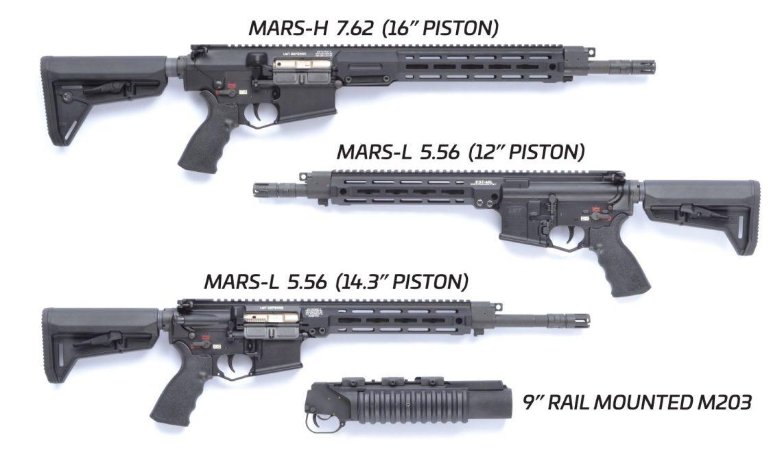 R20 Rahe assault rifles