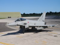 Italian Air Force Eurofighter Typhoon Fighter Jet