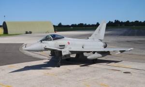 Italian Air Force Eurofighter Typhoon Fighter Jet