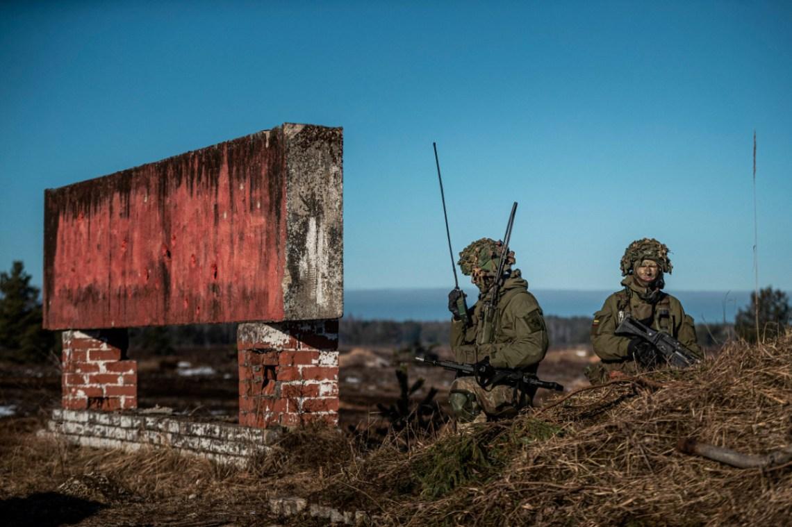 Crystal Arrow 21, Photo by 1st Sgt. G. Indrēvics, Sgt. Ē. Kukutis, Latvian Army