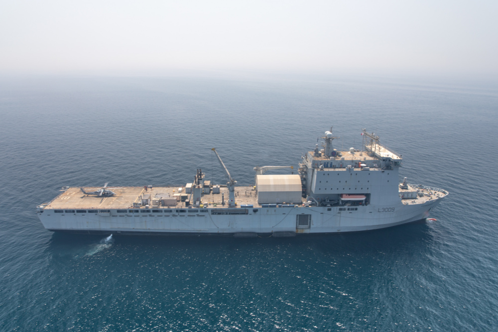 France Australia UK and US Conduct Mine Countermeasures Exercise in Persian Gulf