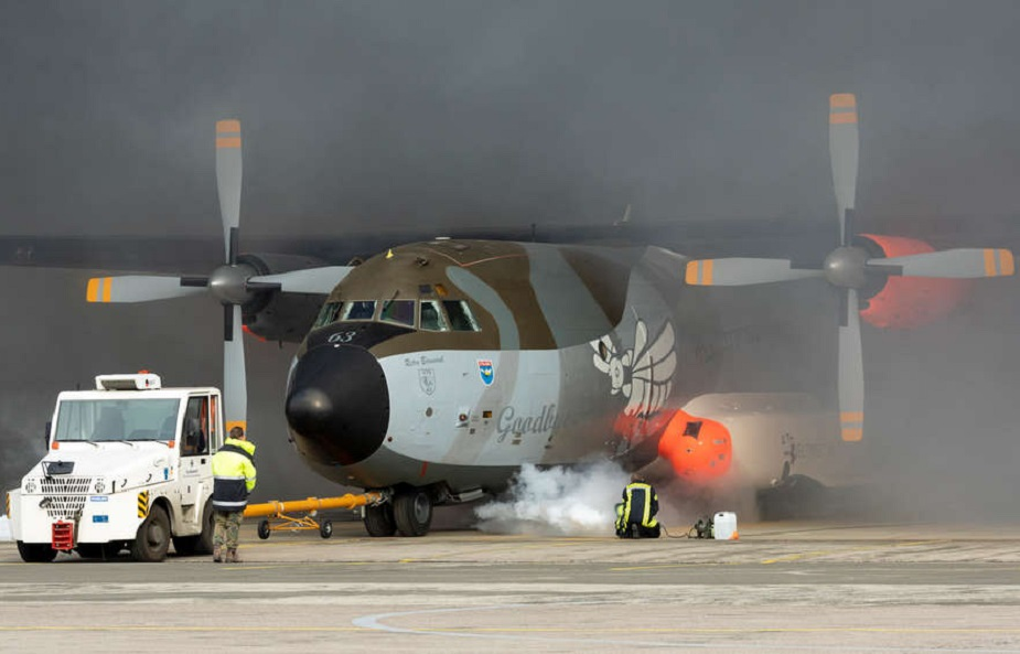 German Air Force Transall C-160 Military Transport Aircraft