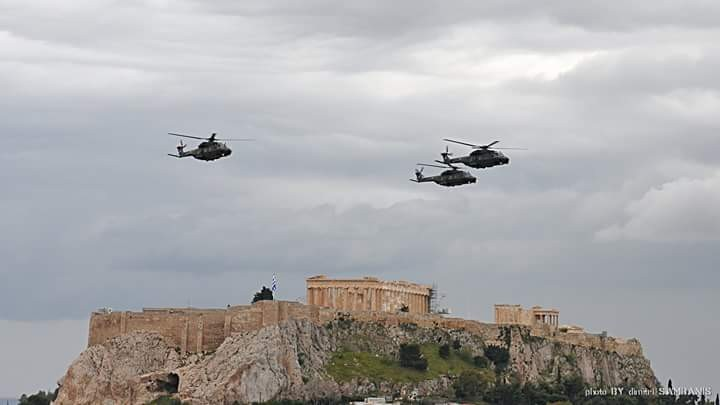 Hellenic Army NHIndustries NH90 Medium-sized Twin-engine Multi-role Military Helicopter