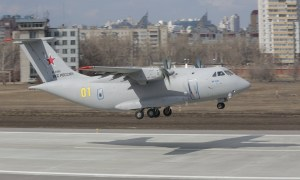 Ilyushin Il-112V Light Military Transport Aircraft