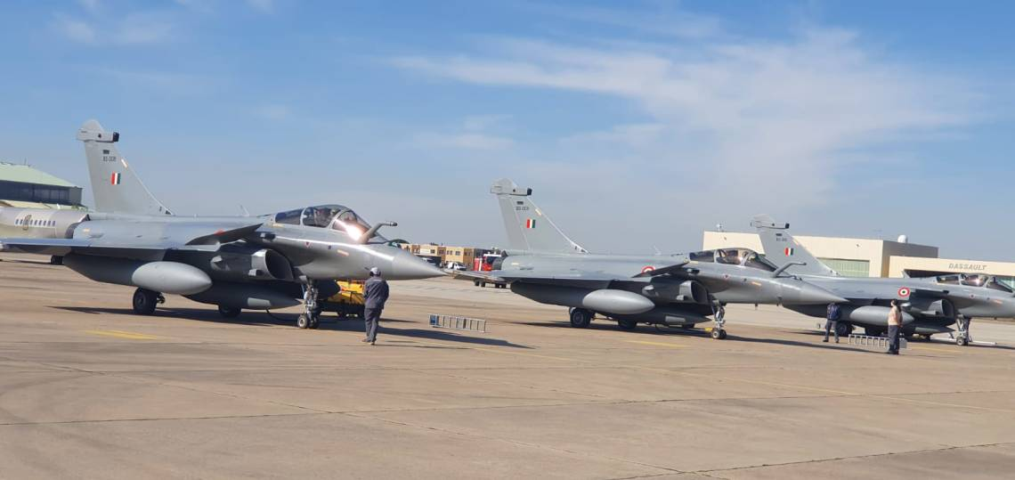 Indian Air Force Receives Its Fourth Batch of Dassault Rafale Multirole Fighter