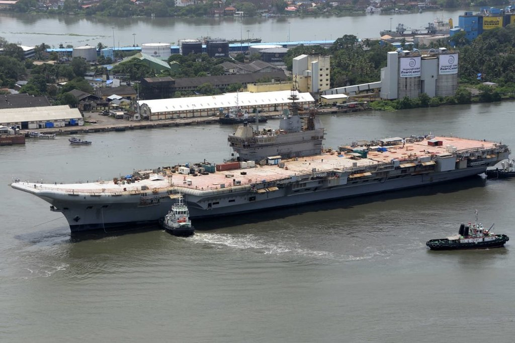 Basin Trials of Indigenous Aircraft Carrier (IAC) were successfully conducted at Cochin Shipyard Limited on 30th November 2020.