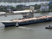 Future Indian Aircraft Carrier INS Vikrant