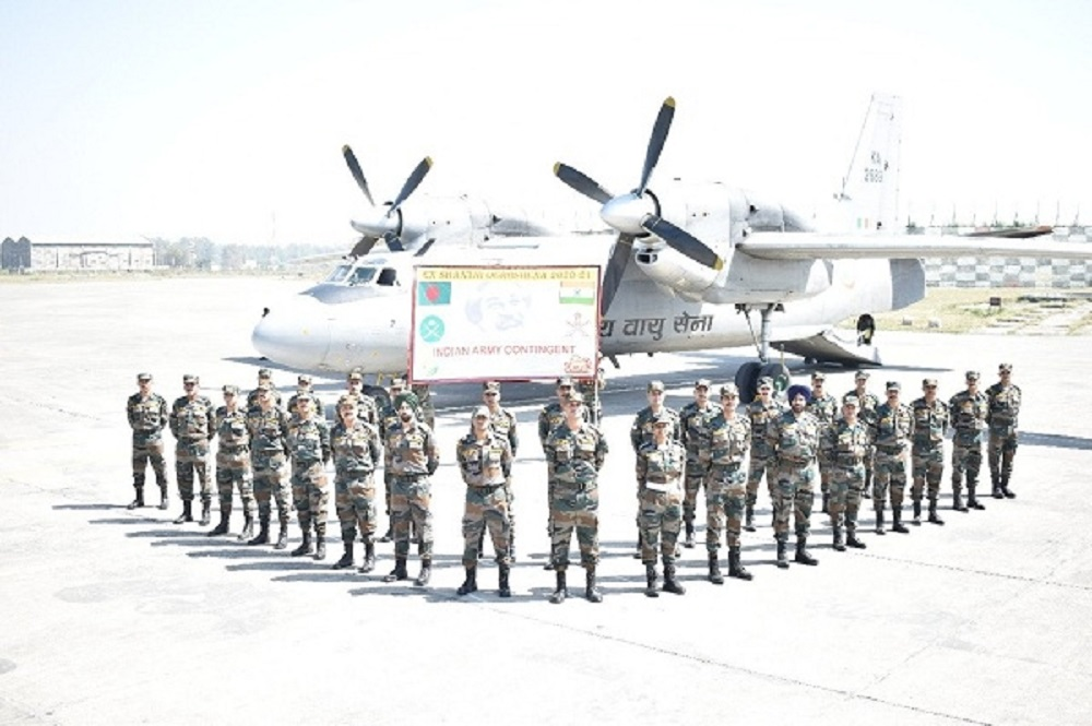 Indian Army Participates Multinational Military Exercise in Bangladesh