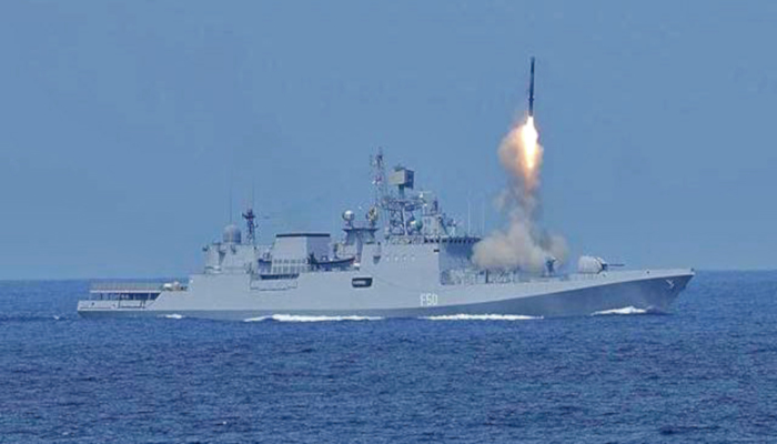 Indian Navy INS Tarkash (F50) Talwar-class Frigate