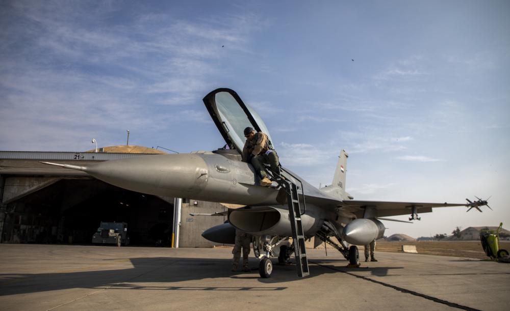 Iraqi Air Force F-16 Block 52
