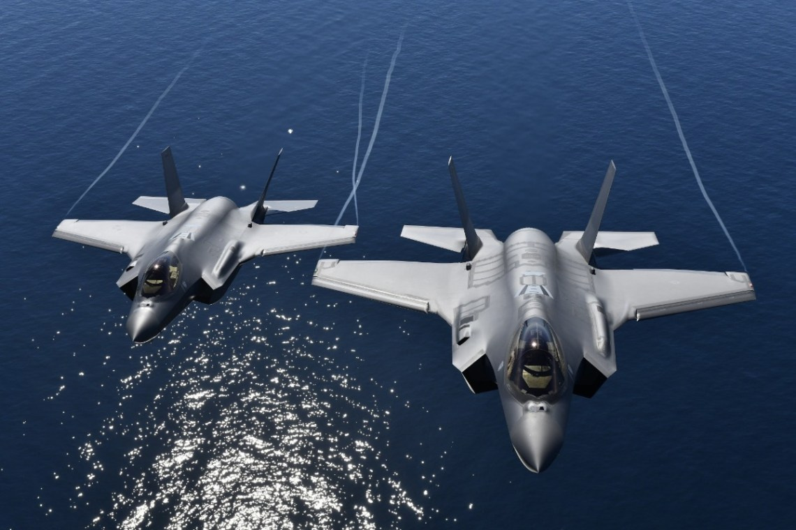Italian Air Force F-35 Fighters