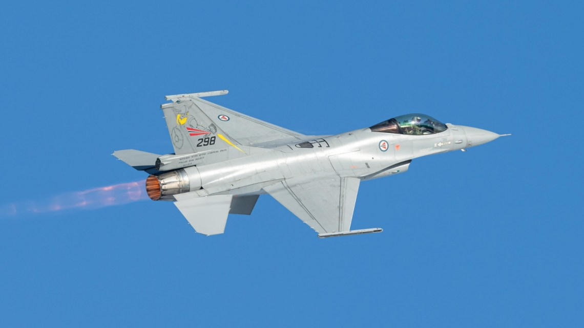 Kongsberg Aviation Maintenance Services Contracted to Upgrade F-16 Fighters
