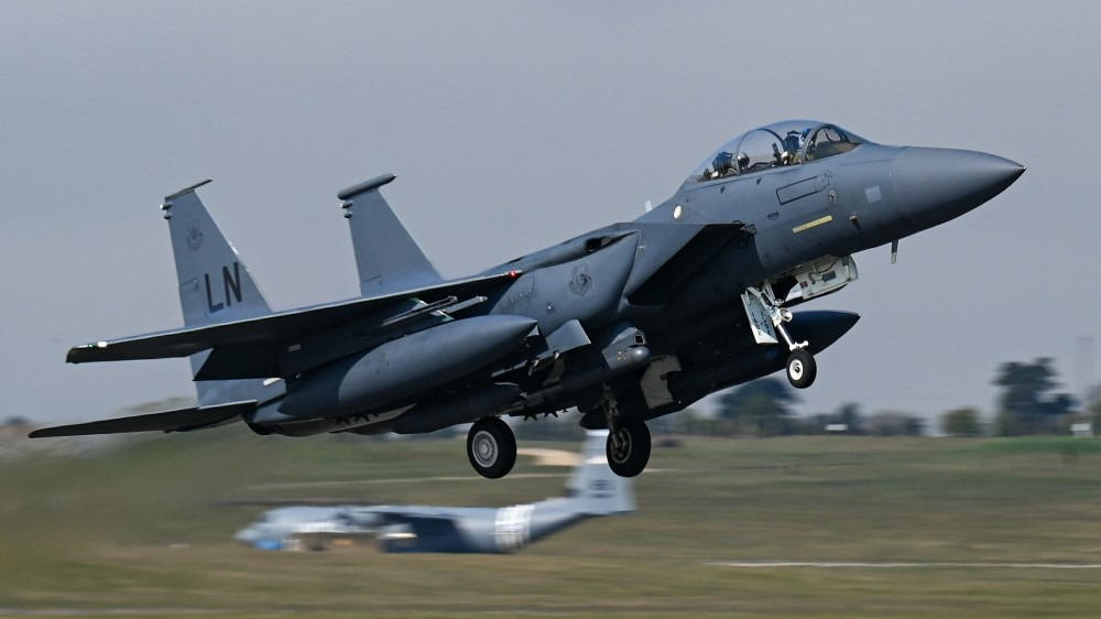 Netherlands Armed Forces Led Exercise Deviant Dragon Trains Allied Fighter Units