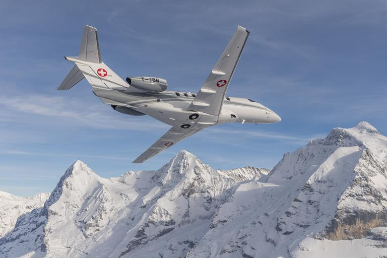 Swiss Air Force Pilatus PC-24 Light Business Jet